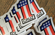 CRUZ #1 STICKERS