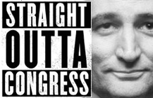 STRAIGHT OUT OF CONGRESS