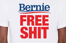BERNIE FREE SHIT T-SHIRT